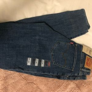 Levi's 721 high rise skinny jeans NWT